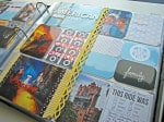 Disney Hollywood Studios Vacation Scrapbook Album
