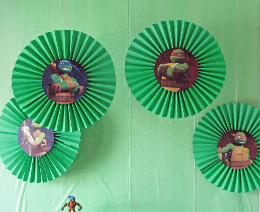 Ninja Turtles Party Decoration