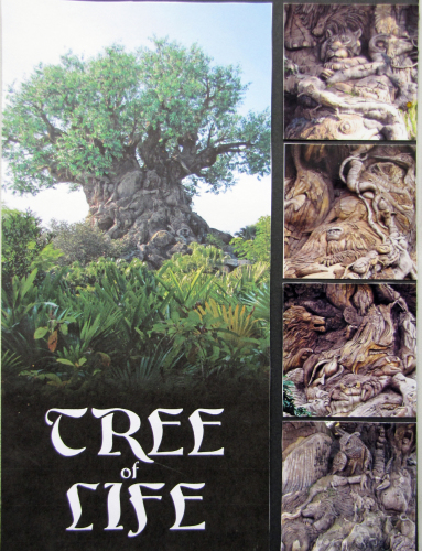 Disney Tree of Life Scrapbook Art for Animal Kingdom Project Life page