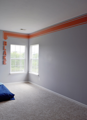 Boys Custom Bedroom Paint Ideas
