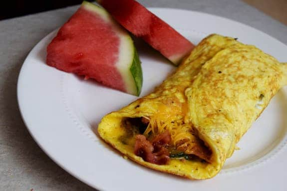 Tasty Omelet Recipe Failure in capturing the delicious