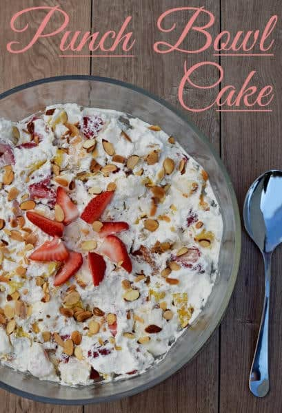 The perfect dessert to bring to potlucks and cookouts, this Punch Bowl Cake can be made in as little as 30 minutes the night before.