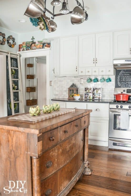 eclectic kitchen design with personal style everywhere