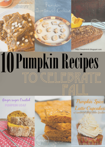 Pumpkin Recipes to Celebrate the Fall