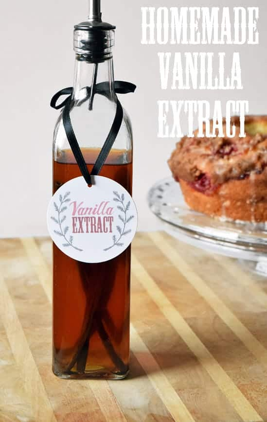 Make Your Own Vanilla Extract. What a great tutorial from Craving Some Creativity