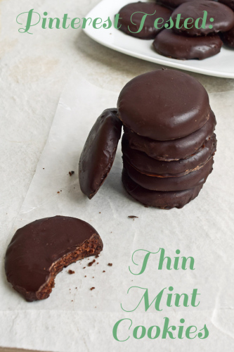Pinterest Tested: Copycat Recipes for Thin Mint Girl Scout