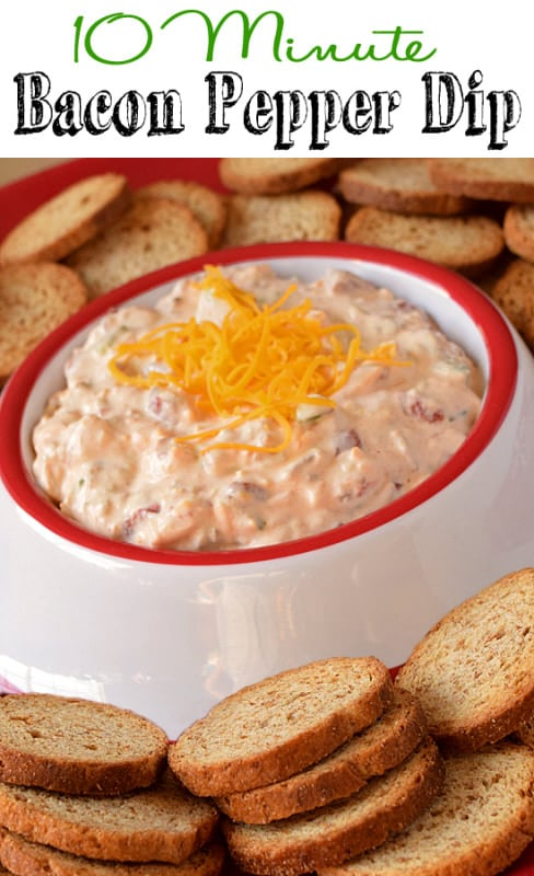 Bacon Pepper Dip Recipe