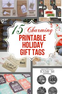 15 Charming Free Printable Christmas Tags