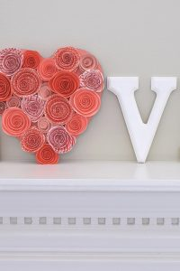 Love Letters Simple Valentine's Craft – Make It Pink Challenge