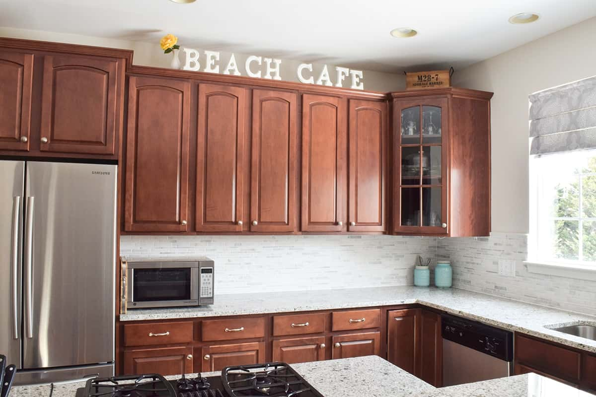 Decorating Above Kitchen Cabinets Craving Some Creativity