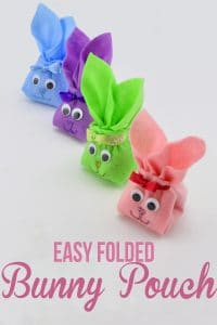 How to Fold a Felt Bunny