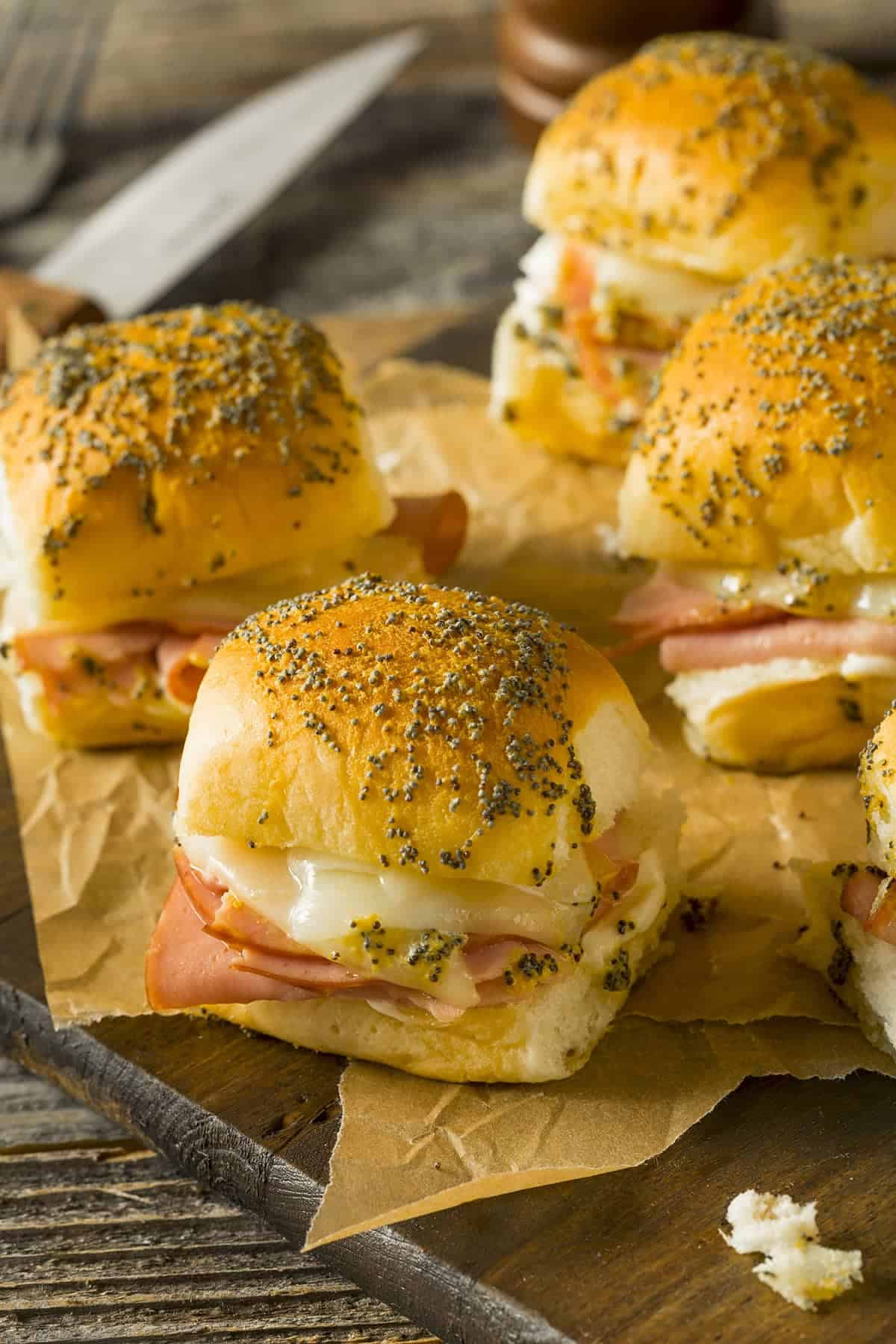 Ham and Cheese Hawaiian Rolls Recipe