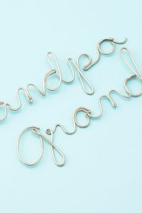 Wire Craft – Wrapping Wire to Make any Word or Name