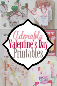 20 Free Printable Valentine Cards for Kids