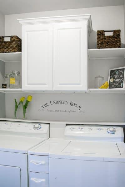 Farmhouse-Laundry-Room-Grey-and-Yellow