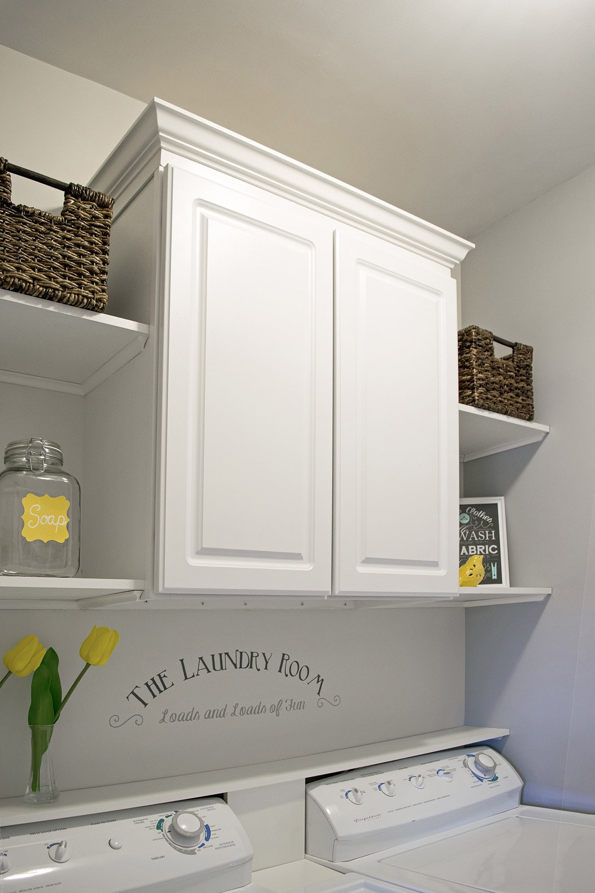 Small Or Closet Laundry Room Makeover