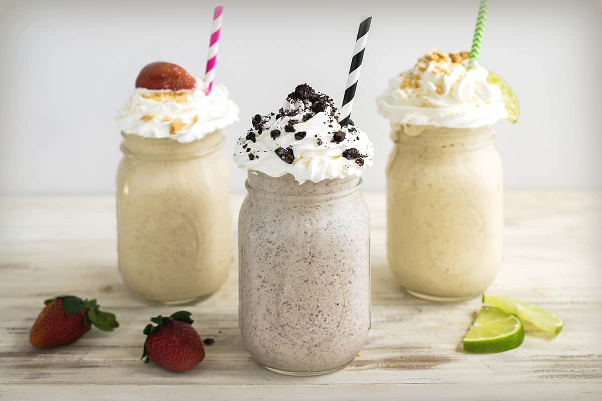 Easy as Pie Milkshakes