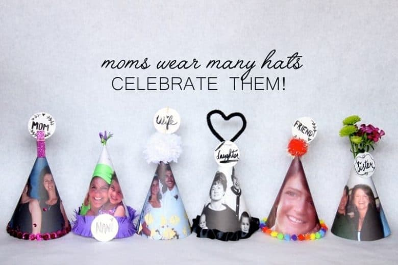 Party Hats for mother's day
