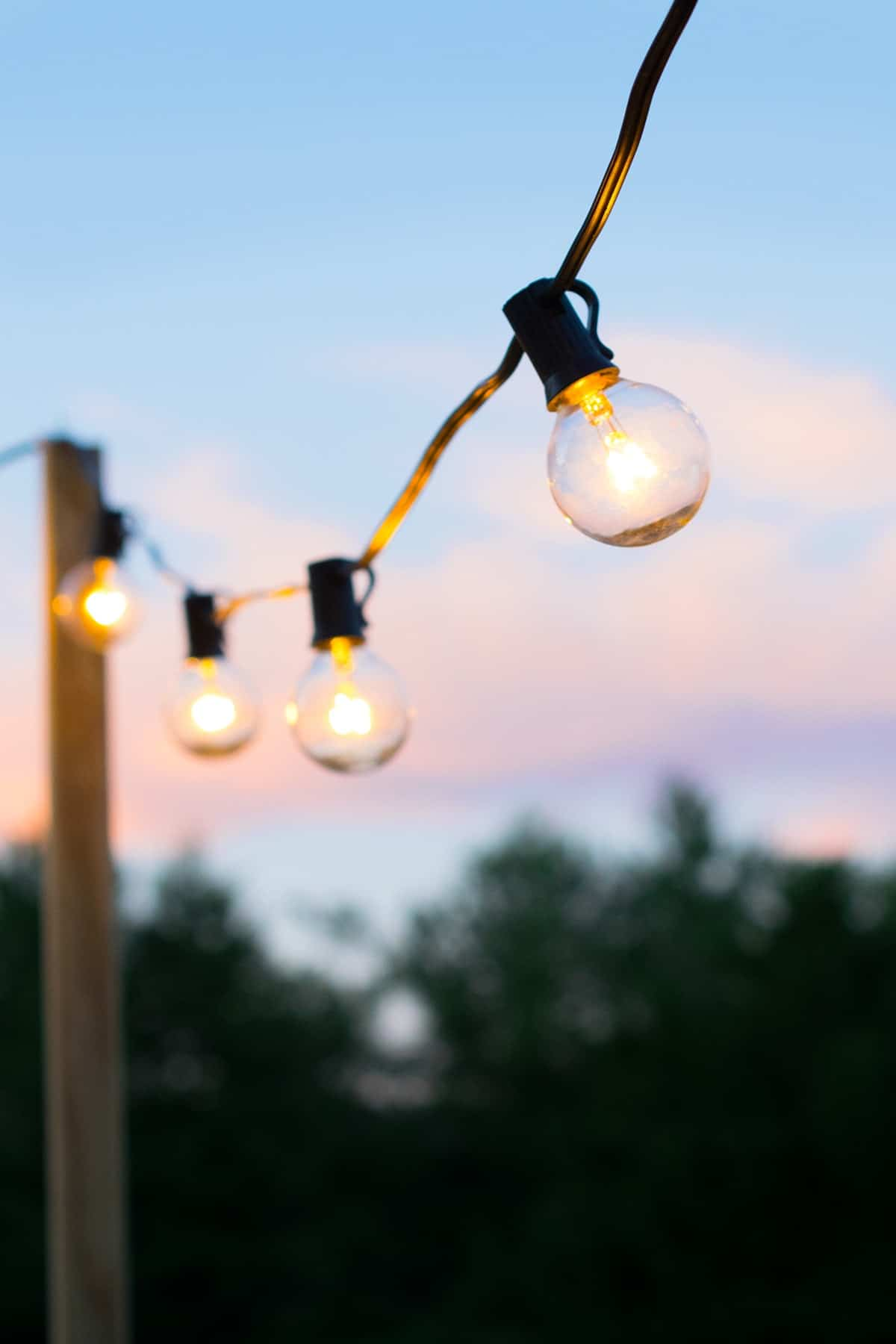Outdoor Deck String Lights for Fun Summer Nights