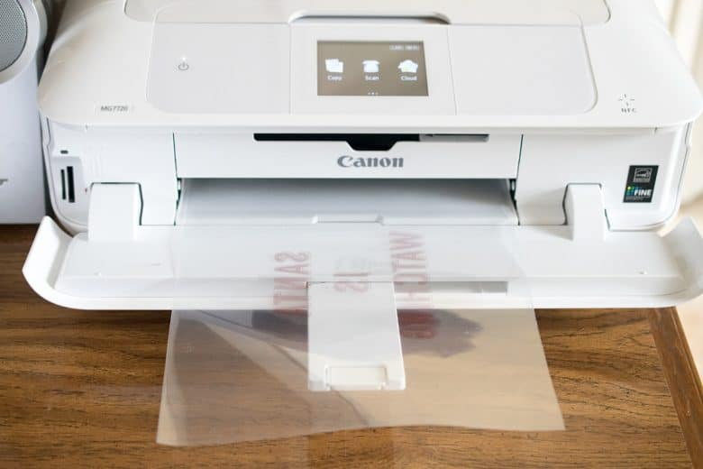 How to transfer an image onto fabric, especially if you cannot print an image directly on the fabric.