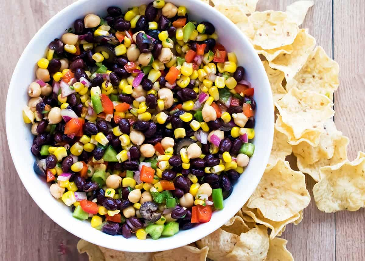 Cilantro Corn and Black Bean Salad
