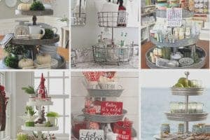 3 Tier Tray Stands – Beautiful Ideas to Decorate and DIY