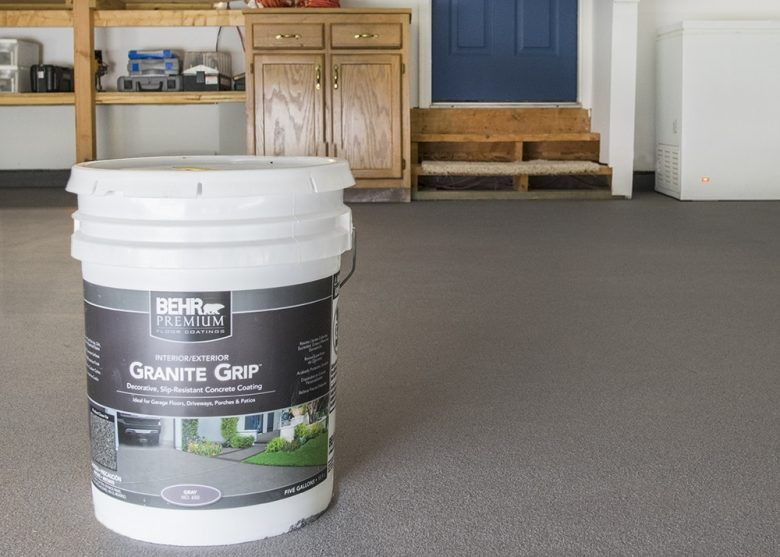 How To Coat Your Garage Floor To Update The Look