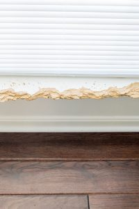 How to Repair the Interior Window Sill and Trim