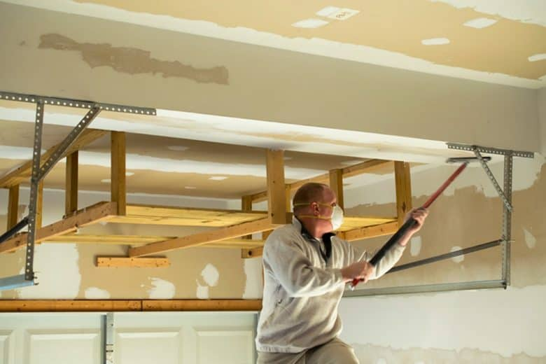 Sanding the Ceiling Tool