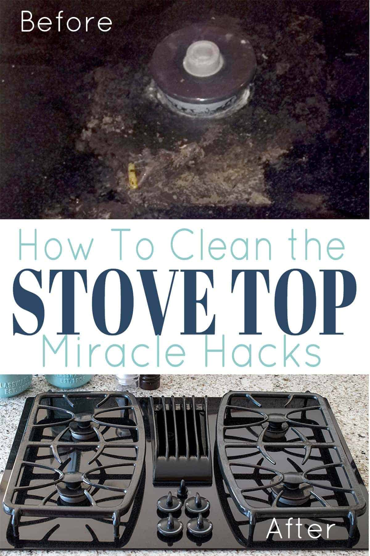 How to properly clean a glass stove top. Spotless Black glass top stove after cleaning residue and burned on food.