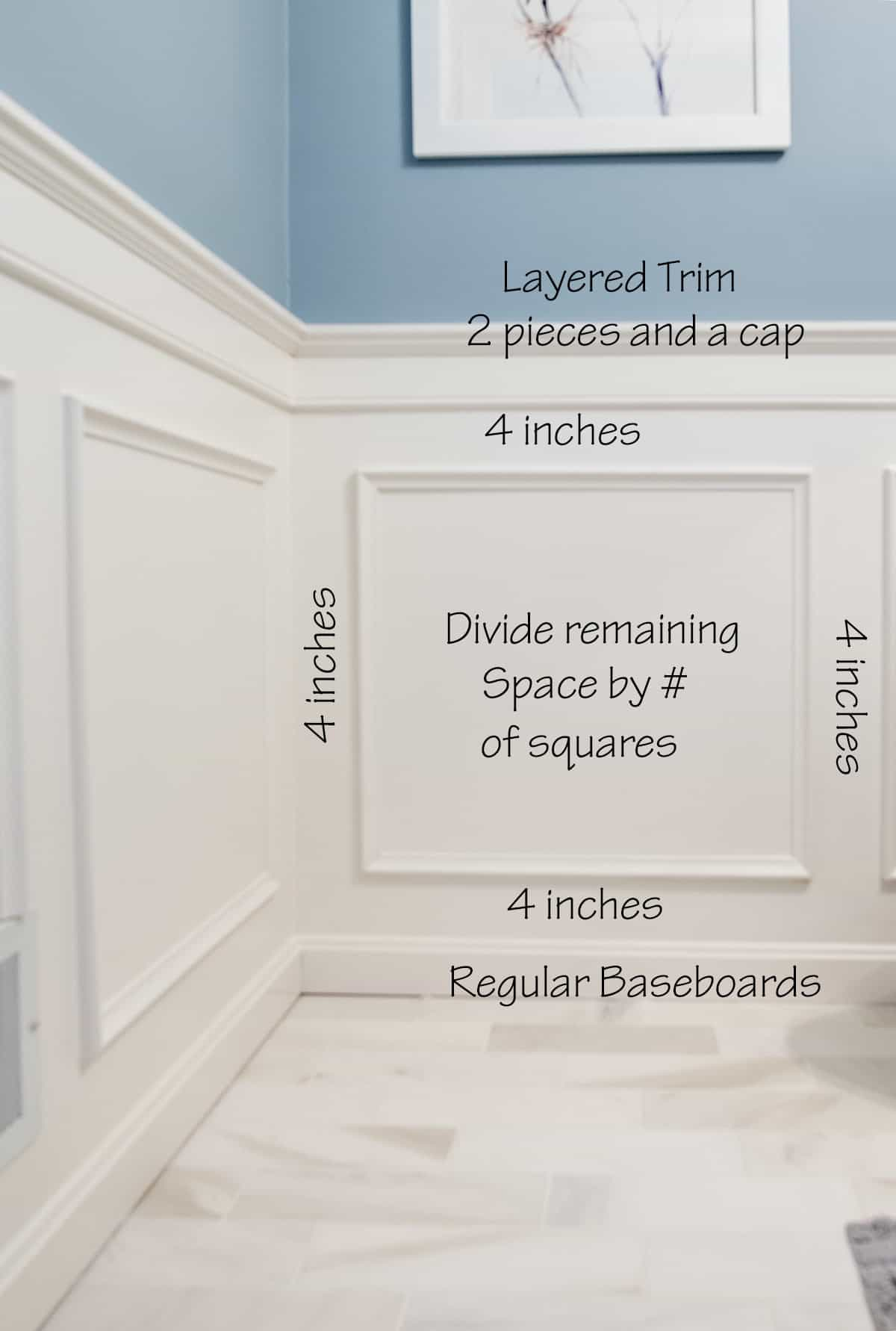 Wainscoting ideas for designing and installing a classic style wainscoting. This example utilizes the bathroom.
