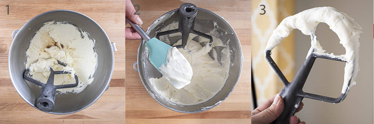 Cream Cheese Frosting Step by Step instructions.