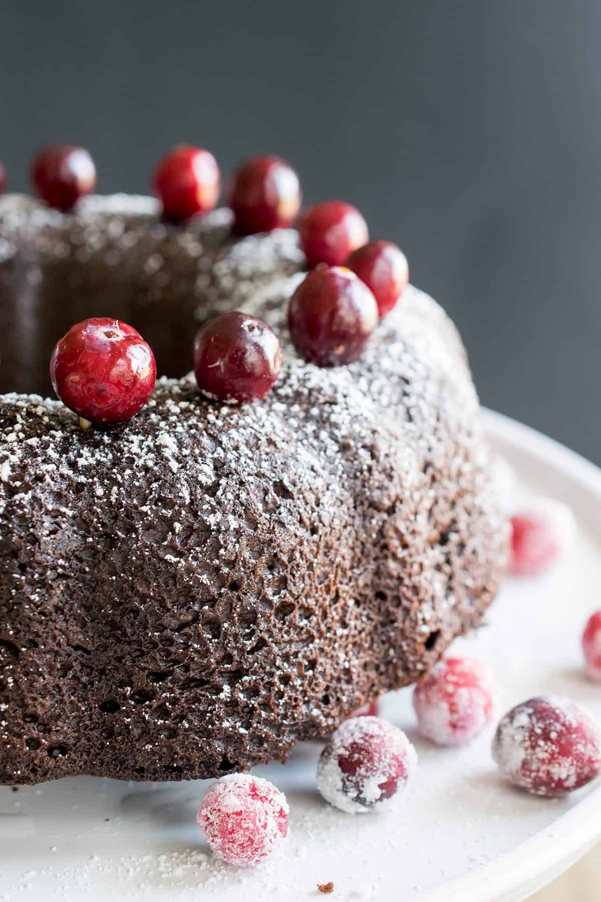 Chocolate Almond Cake Recipe - this moist chocolate cake is so divine! This bundt cake is so rich and delicious!