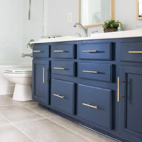 How To Paint A Bathroom Cabinet The, How To Paint Bathroom Cabinets
