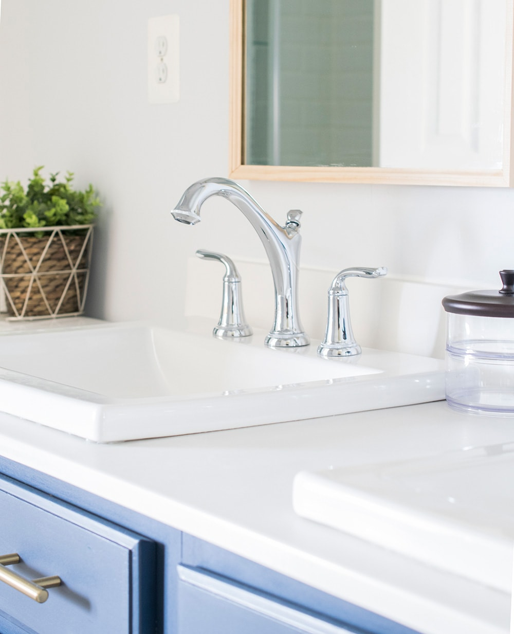 American standard patience faucets with height and studio drop in sinks