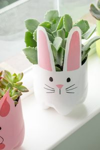 Soda Bottle Animal Planters