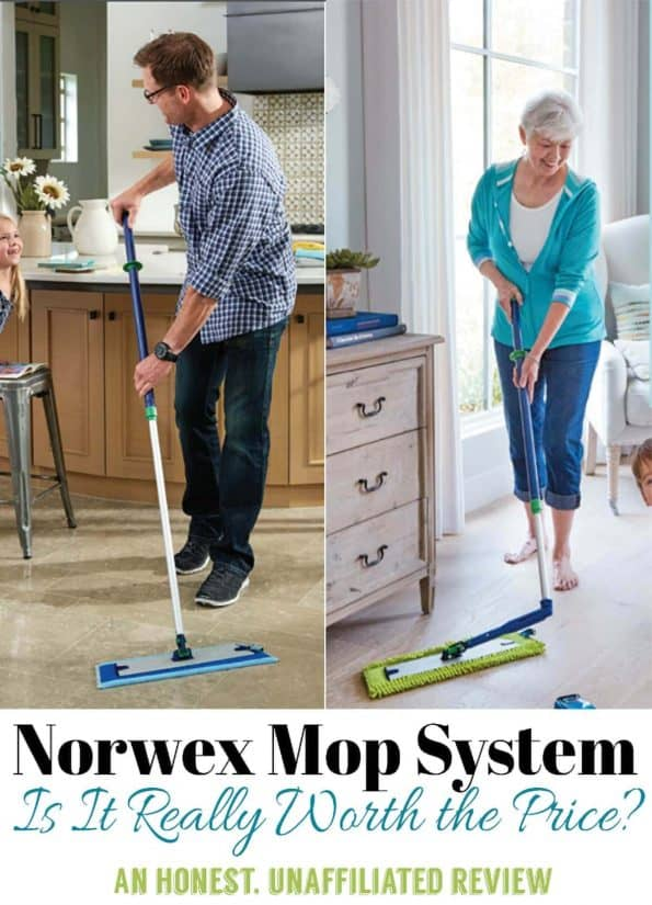 Is the Nowex Mop System Really Worth The Price? Don't buy one until you read this honest norwex mop review!