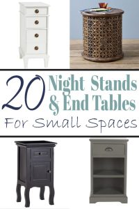 Bedside Tables for Small Bedrooms