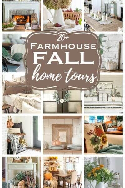 Fall Home Decor Inspiration - 20 beautiful budget fall decorating home tours to inspire!