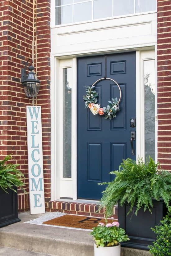 Outdoor Front Door Decorating - 7 easy ways to makeover your front porch area