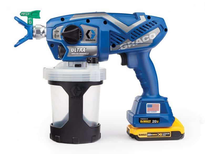 Graco Cordless ultra handheld paint sprayer