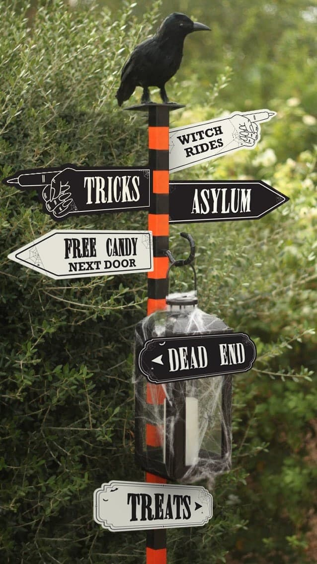 Choose your own Adventure DIY Halloween decorations.