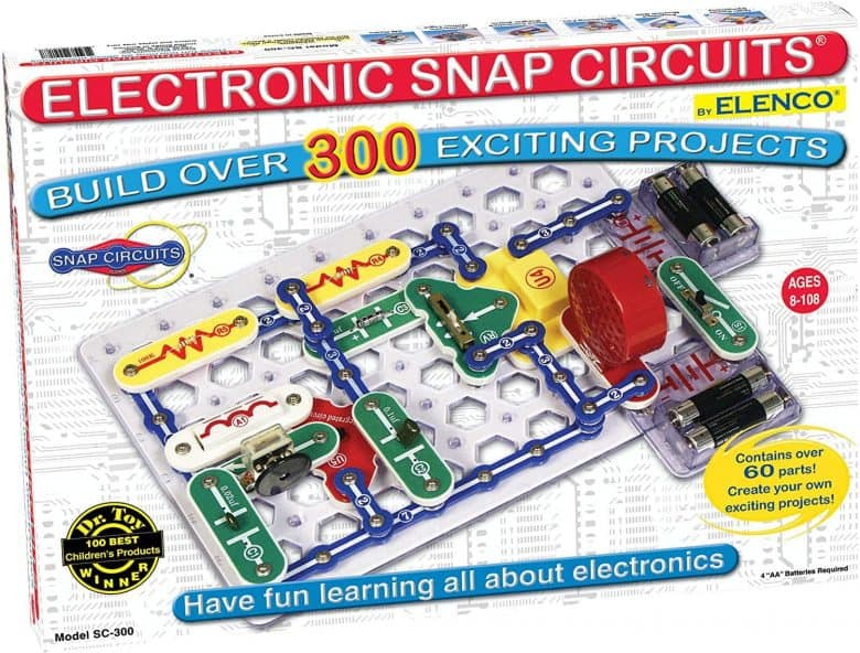 Snap Circuits STEM toy.