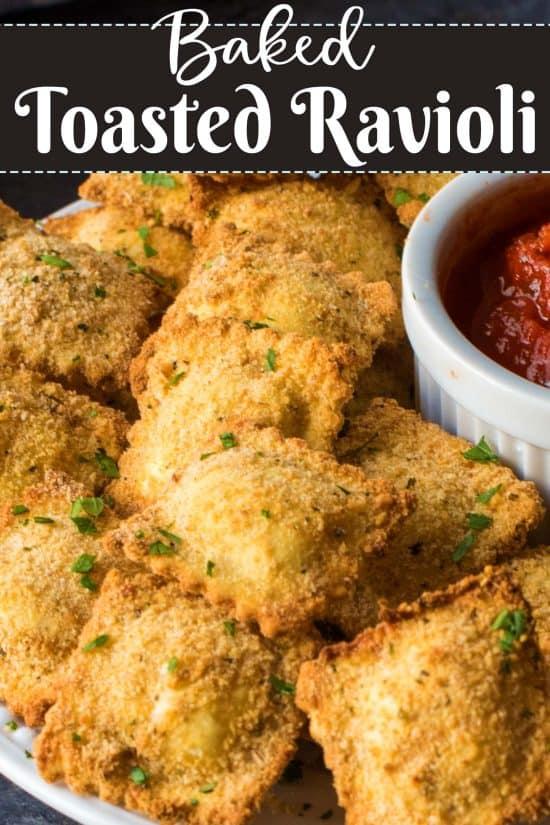 Baked Toasted Ravioli Recipe