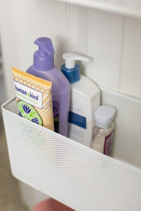 Door Organization Basket for Linen Closet