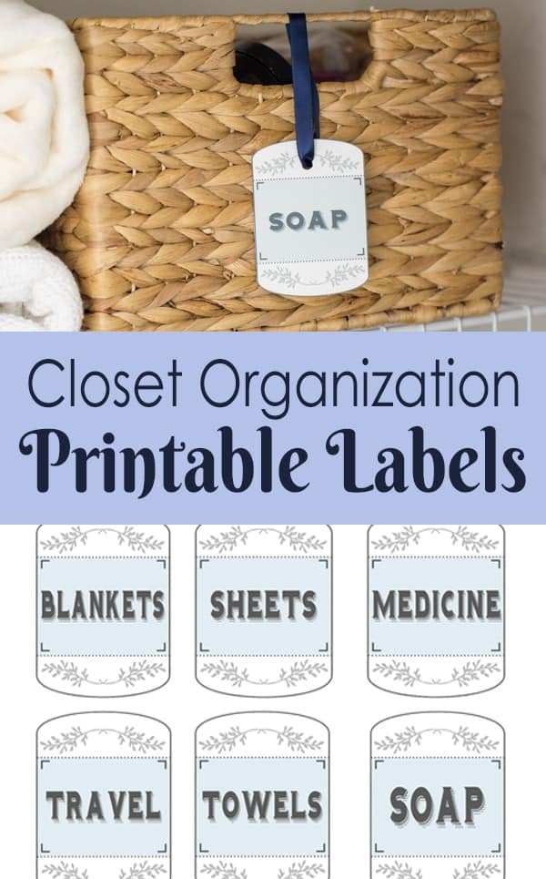 Hall closet organization