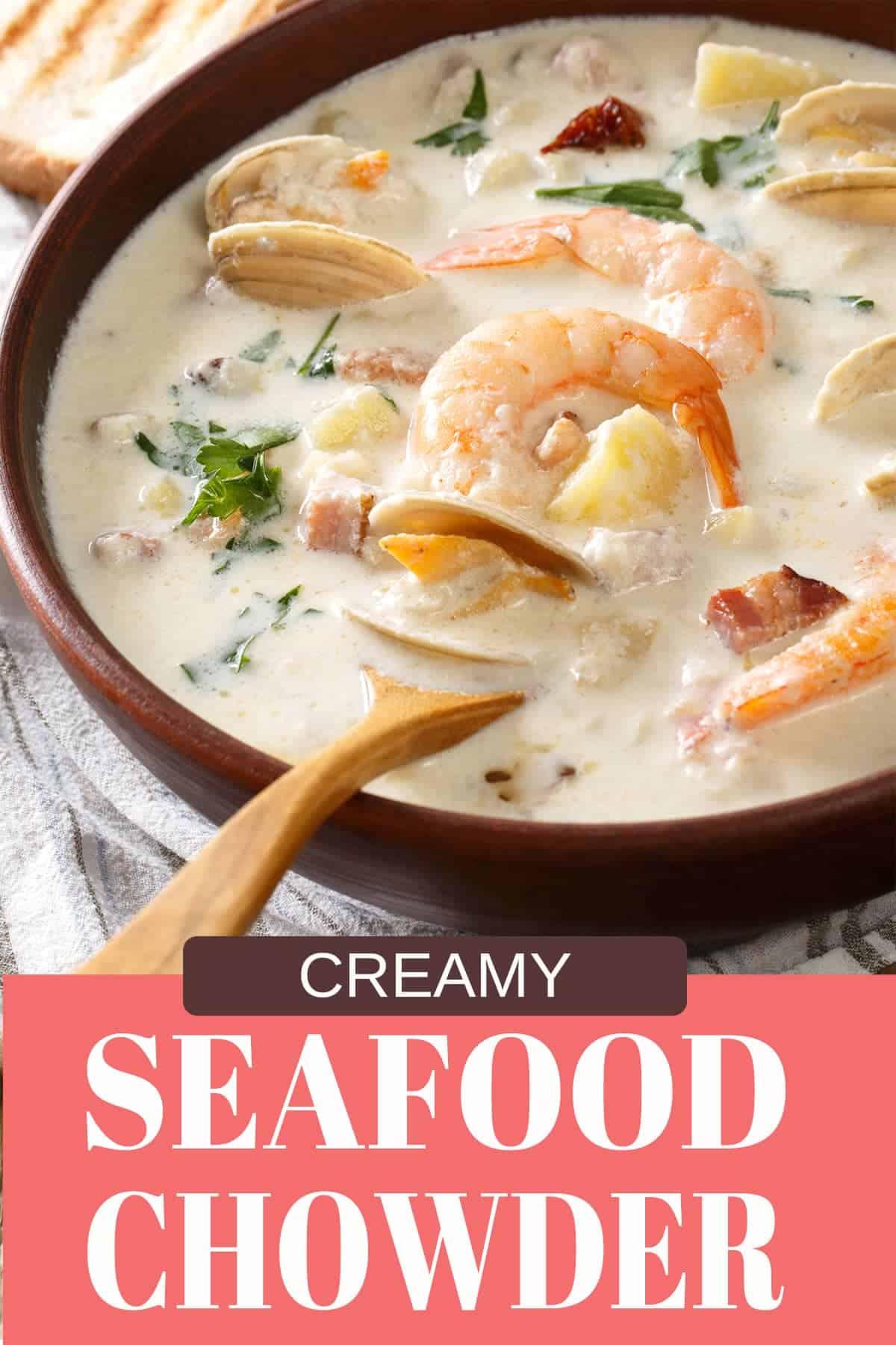 Creamy Seafood Chowder Recipe