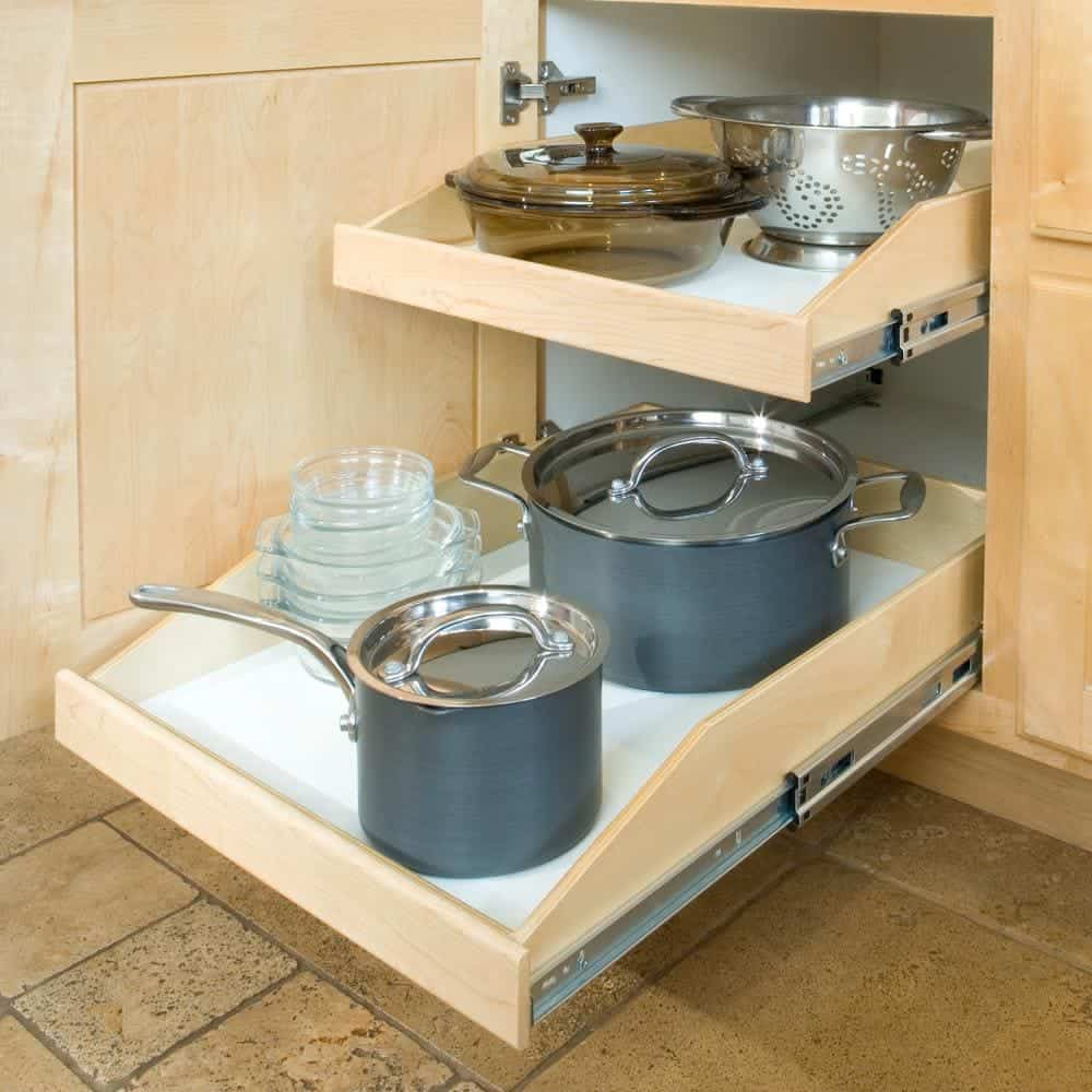 Pull Out Shelves for the pantry organization