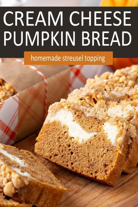 Cream Cheese Pumpkin Bread Recipe