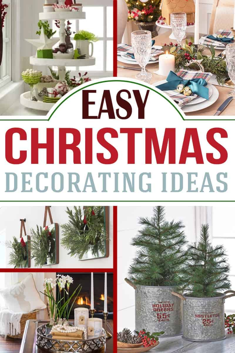 Holiday decorative ideas collection with post title
